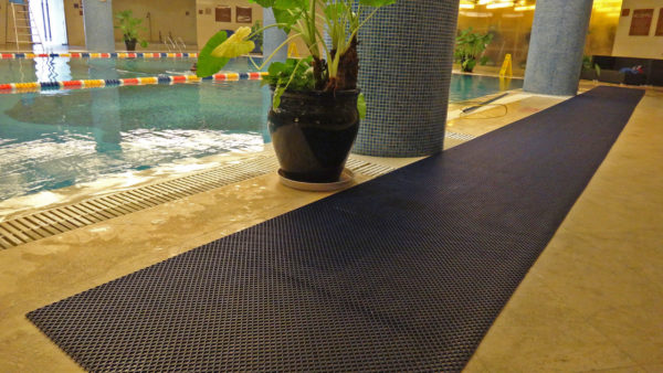 Schwimmbadmatte 01_Diamond_Grid_Leisure