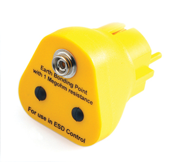 ESD Erdungsstecker 19_European_Earth_Bonding_Plug